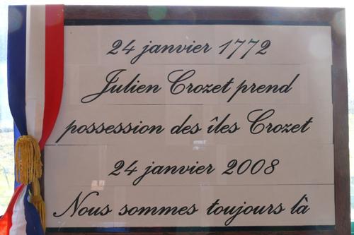 Il y a 236 ans à Crozet... - 24 janvier 2008 Commemoration