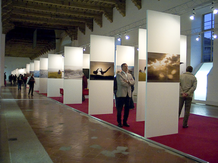 Crozet s'expose à Turin - octobre 2008 ExpoTurin