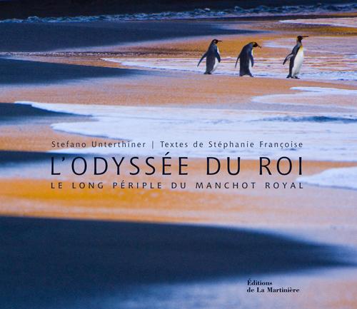 L'odyssée du roi, Le long périple du manchot royal Livre_odyssee